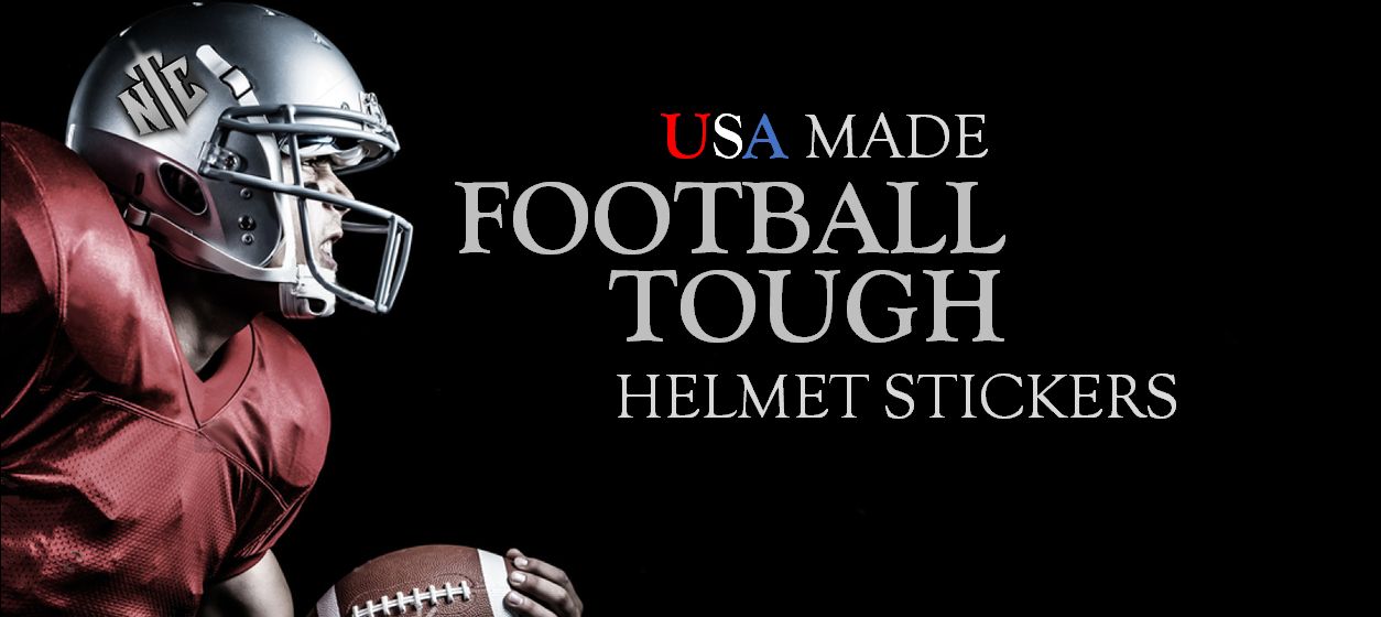 Football Helmet Stickers