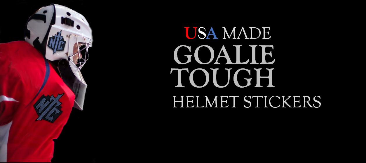 Goalie Helmet Stickers
